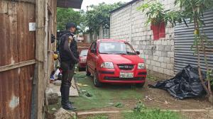 Los carros robados fueron encontrados en un 'deshuesadero'.