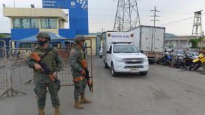Aumentó la cifra de muertos en el amotinamiento en cárceles de Guayaquil.