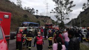 Accidente - Simón Bolívar - Quito