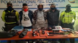 Detenido - Robo - Casa - Quito