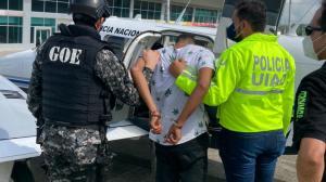 El sospechoso, Álvaro Cagua, fue detenido en Esmeraldas y traído a Guayaquil.