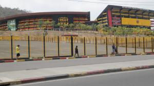 Estadio Monumental.