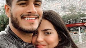 Emma Guerrero y su pareja, Fernando Zúñiga.