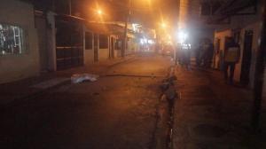 En este sector del sur porteño fue asesinado Ronald Raúl Lugo Bolaños.