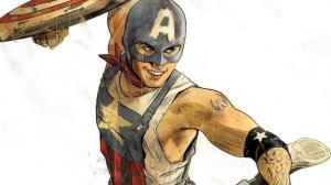 Aaron Fisher es el nuevo Capitán América.