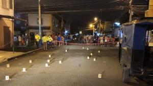 En las calles 46 y Oriente ocurrió uno de los crímenes registrados en Guayaquil.