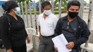 Carlos Ronquillo contó como conocieron del accidente que habría sufrido el mayor de sus hijos.
