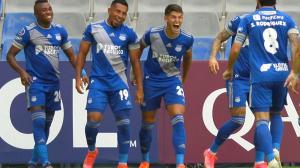 Emelec va ganando 1-0 a Macará.