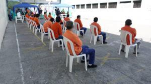 En los centros penitenciarios hubo en esta ocasión menos personas para el voto de los privados de la libertad.