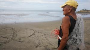 Pescador de 102 años en Playas