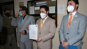 El anuncio lo hicieron en el Municipio los miembros del colectivo Quito Unido.