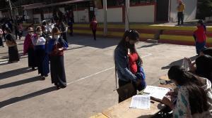 El sector indígena se vio dividido en las urnas.