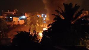 Se reporta un incendio en Manabí.