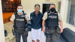 Sospechoso de robo fue puesto a órdenes de las autoridades judiciales.