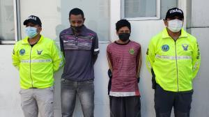 A los dos implicados en el delito de extorsión se les dictó prisión preventiva.
