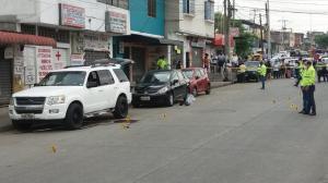Balacera en la Juan Montalvo, norte de Guayaquil.