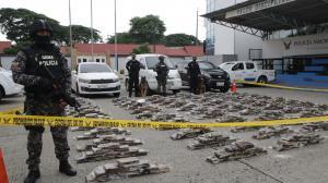 La droga fue presentada en el cuartel Modelo de la Policía.