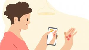Google presenta una app con tecnología artificial para detectar enfermedades.