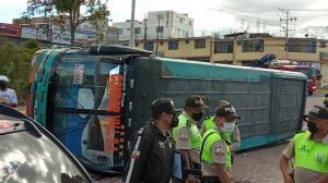 Accidente - Sangolquí - Bus