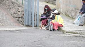 En Quito, una organización ayuda a las mujeres en situación de calle.