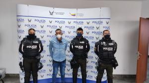 Sacapintas - Quito - Detenido