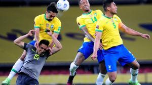 Brasil le ganó a Ecuador.