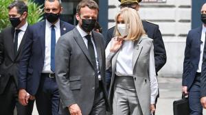 Emmanuel Macron fue cacheteado por una persona y el video se hace viral.