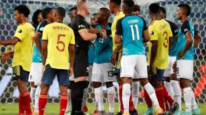 Ecuador no pudo conseguir el empate ante Colombia.