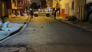 En este sector fueron baleados dos adolescentes.