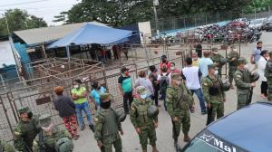 El reciente fin de semana y la mañana del último lunes se produjeron varios incidentes en el Centro de Rehabilitación Social de Varones.
