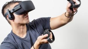 Estas son las gafas de realidad virtual Oculus.