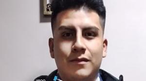 Uno de los desaparecidos en la frontera.