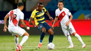 Ecuador empata con Perú y se aleja de los cuartos de final de la Copa América.