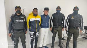 Detenidos - Droga - Tumbaco