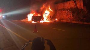 incendio carros
