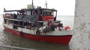 Esta es la embarcación que fue atacada por los delincuentes en el golfo porteño.