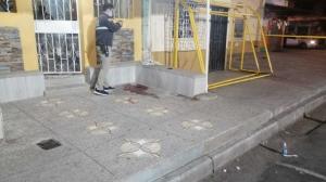 En este lugar fue asesinado Fernando Chávez Solís.