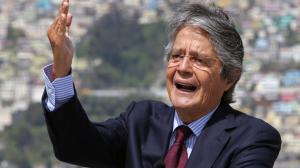 """El presidente Guillermo Lasso, asistió al lanzamiento de la etsrategia """"Ecuador Emprendedor, Innovador y Sostenible 2030"""", organizado por la Alianza para el Emprendimiento y la Innovación."""