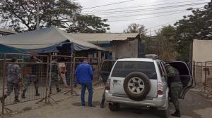 En un breve comunicado la Policía detalló que unidades tácticas laboran en el sitio.