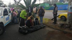 Accidente - Quito - Muerto