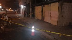 En este lugar fue asesinado con 12 tiros Kevin Johan Encalada Nazareno.