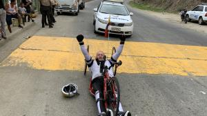 Esteban Ortiz, paraciclista