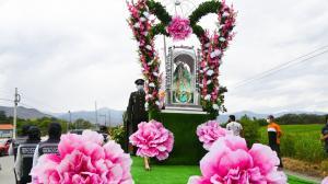 Virgen del Cisne pasa por Catamayo