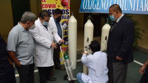 Centro de acopio tanques de oxígeno