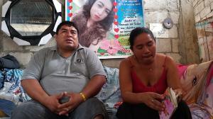 Los padres de Noelia Selena, Mayra Parrales y Pablo Vargas, conservan sus fotografías.