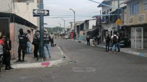 El cuerpo quedó a unos 20 metros de la esquina de las calles 48 y Rosendo Avilés.