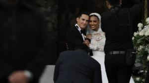 Juan David Borrero y Jasmine Tookes