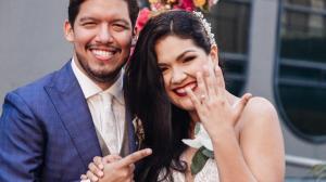 Titi Aguilar y Efrén Monteverde esperan un hijo.