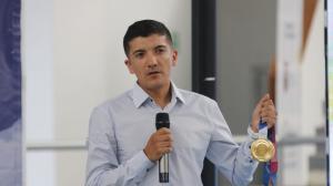 Richard Volvió a Ecuador este 10 de septiembre de 2021, tras su victoria en los Juegos Olímpicos