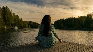 La meditación es un paso para alcanzar el nirvana.